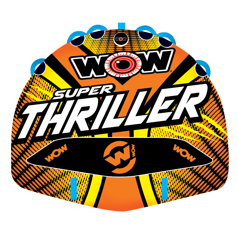 WOW Ski Tube, SUPER THRILLER 3p towable