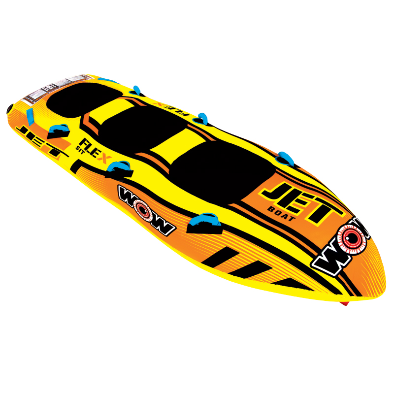 WOW Ski Tube, JET BOAT 3p towable