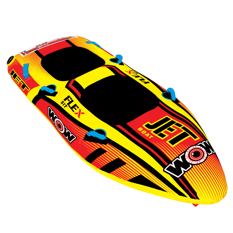 WOW Ski Tube, JET BOAT 2p towable