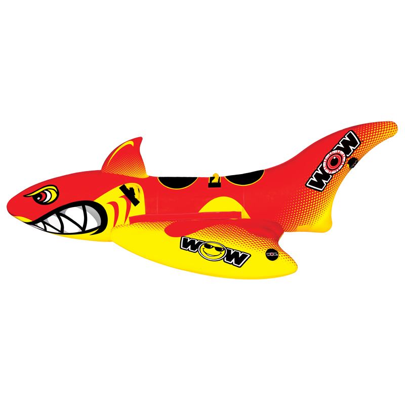 WOW Ski Tube, Big Shark 2p, 327x158cm